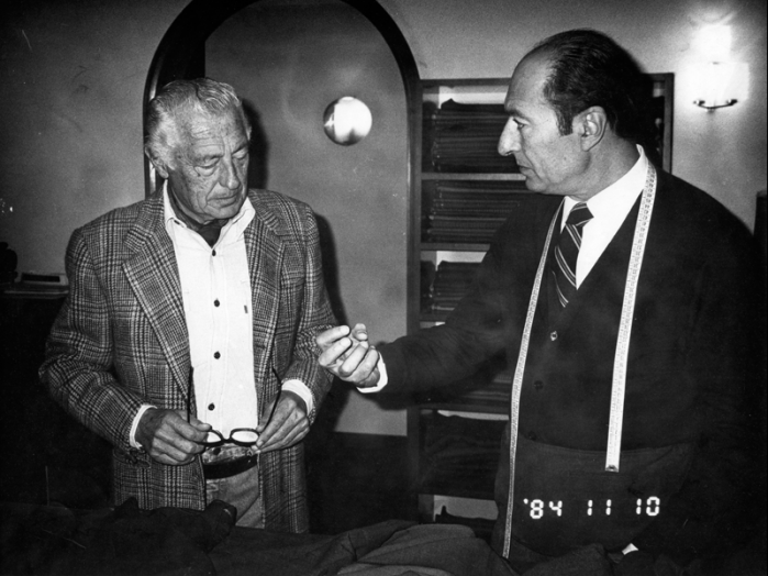 Giovanni Agnelli e Giulio Caraceni